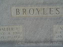 Walter E Broyles