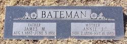 Annie Jane <i>Simms</i> Bateman