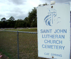 Saint John Lutheran Church Cemetery