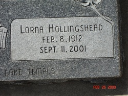 Lorna <i>Hollingshead</i> Banks