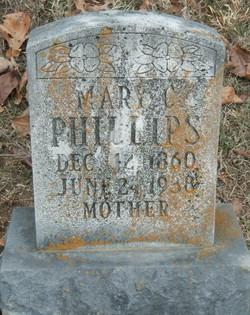 Mary Catherine <i>Fisher</i> Phillips