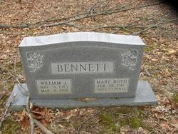 Mary <i>Boyd</i> Bennett