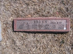 F. A. Brown
