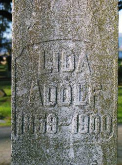 Lida <i>Weiler</i> Adolf