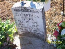 Pvt Arthur R Burks