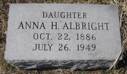 Anna H Albright