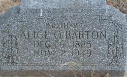 Alice Opal <i>Bell</i> Barton