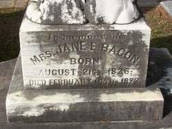 Jane E. <i>Abercrombie</i> Bacon