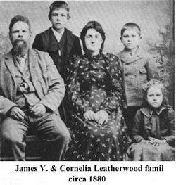 Pvt James Vandiver Leatherwood