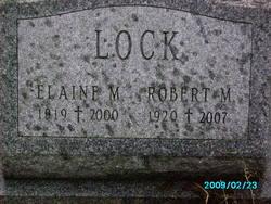 Robert M Lock