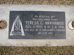 Teresa <i>Garcia</i> Arrambide