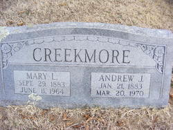 Mary Louise <i>West</i> Creekmore