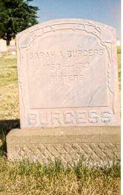 Sarah Anne <i>Cavanaugh</i> Burgess