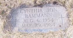 Cynthia Jon Bammann