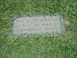 Mrs Mary Elizabeth <i>Martin</i> Dunaway