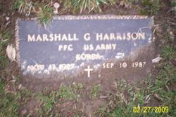 Marshall G Harrison