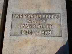 Ann Martin <i>Bedell</i> Allen