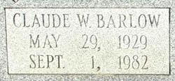 Claude William Barlow