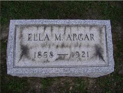 Ellen Mary Ella <i>Dillon</i> Apgar