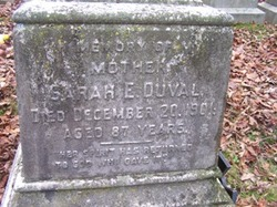 Sarah Eliza <i>Thompson</i> Duval