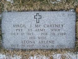 Virgil J Mc Cartney