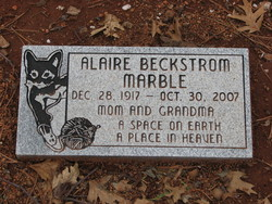 Alaire Margaret <i>Beckstrum</i> Marble