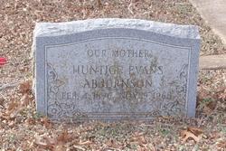 Huntice Evans Abjornson