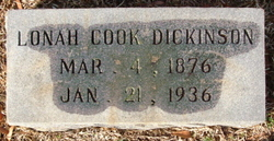 Lonah <i>Cook</i> Dickinson