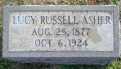 Lucy Carolina <i>Russell</i> Asher