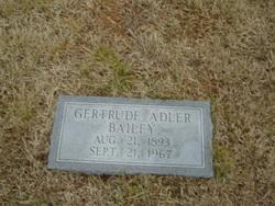 Gertrude <i>Adler</i> Bailey