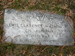 Lewis Clarence Washington