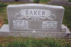 Gussie <i>Burns</i> Baker