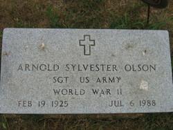 Arnold Sylvester Olson