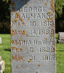 Maria <i>Maier</i> Baumann