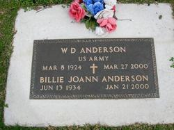 William Daniel W.D. or Big Boy Anderson