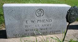 Everett Wayne Bud Phend