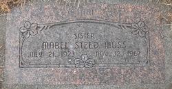 Mabel Loranda Bonnie <i>Steed</i> Moss