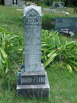 Sarah Louetta <i>Peterson</i> Griffith