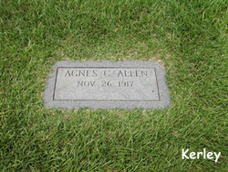 Agnes M <i>Compton</i> Allen