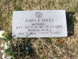 John F Hires