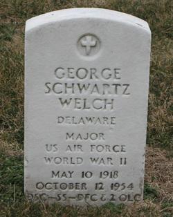 Maj George S Welch