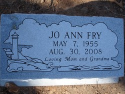 Jo Ann <i>Parsons</i> Fry