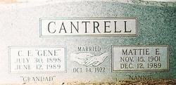 Charles Eugene Gene Cantrell