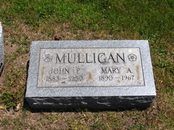 Mary Agnes <i>Cox</i> Mulligan