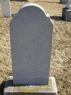 Anna E. <i>Kiser</i> Brown