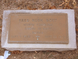 Fred Rush Bost