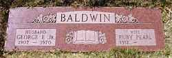 George F Baldwin, Jr