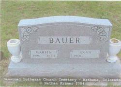 Anna Marie <i>Bauder</i> Bauer