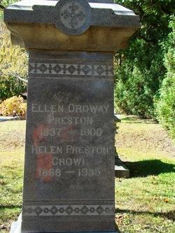 Ellen <i>Ordway</i> Preston