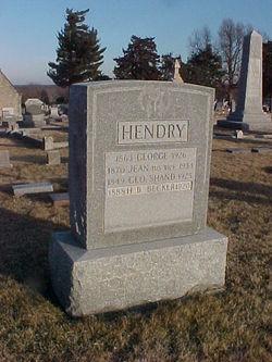 Jean <i>Shand</i> Hendry